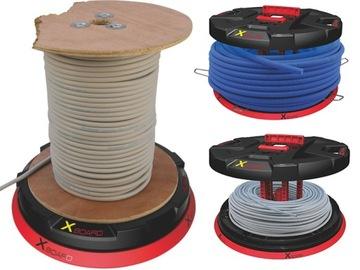 Likvidácia stojany na odvíjanie káblov a drôtov