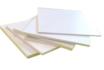 PVC doska (PVC) Biela 4mm pre dimenziu !!