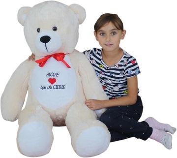 Veľký plyšový medveď 120 cm, plyšové medvedíky, hračky, maskoti