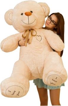 Veľký plyšový medveď 160 cm maskot VÝROBCA cena