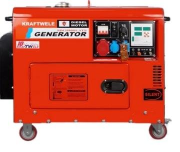 Generátor generátora 9.8KW ATS SZR 400VVSILY