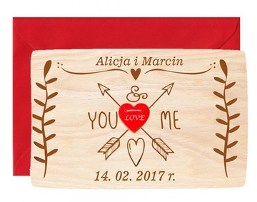 Love Card Valentine's Deň Engrin