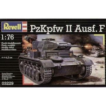 Revell 03229 - PZKPFW II PANZER II AUSF.F 1/76