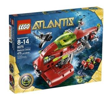 LEGO Atlantis 8075 Ponorka NEPTUNE waw tehly