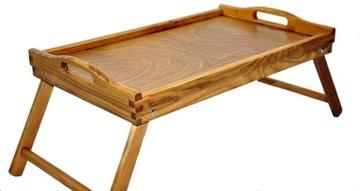 Raňajkový stôl pre lôžko pod nohavicový zásobník