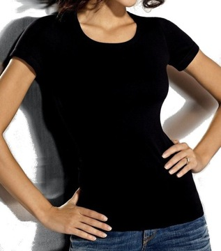 Shirt różowy 4850 4XL5XL w T shirty damskie Moda damska