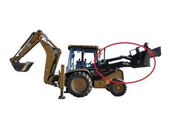 CAT 428 432 C / D / E Пальцы переднего ковша