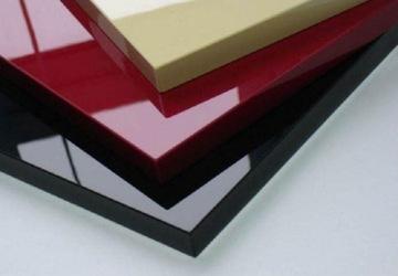 Фасады мебели из МДФ, покрытые лаком, матовый цвет