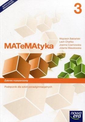 MATeMAtyka LO 3 ZR Podr. w.2017 NE Nowa Era