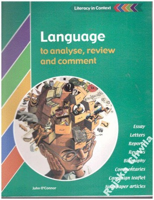 Language to analyse review and comment NOWA angiel