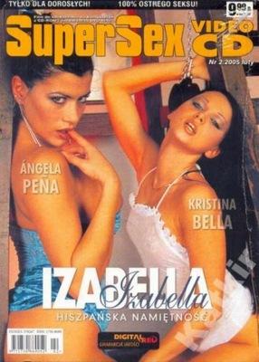 Izabella. Super Sex VCD 2/2005. Nowy VCD.