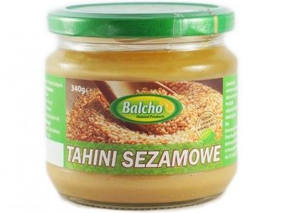 Вкусный паста из кунжута BALCHO Тахини жаренные 100 %