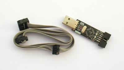 PROGRAMATOR USBASP KK2.0 9X SIMONK 6 PIN ISP IDC