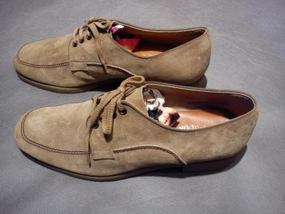 HUSH PUPPIES MADE BY CLARKS SHOES LEATHER UPPER