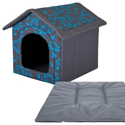 буде + подушка для Собаки, Домик Hobbydog R4: 60x55