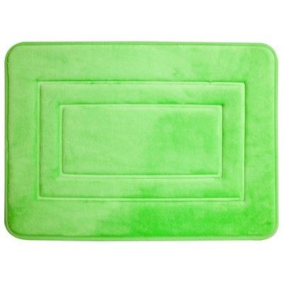 Protišmyková podložka -Dywanik łazienkowy 40x60 San 3D miękki zielony