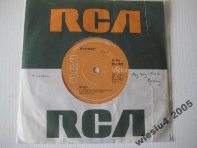 Elvis Presley - My Boy   SP/ UK/