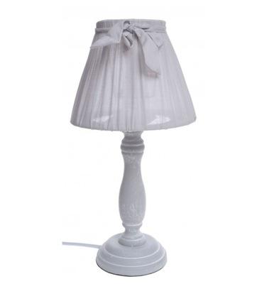 varovanie LAMPA s noc predok svetlo sivá vintage