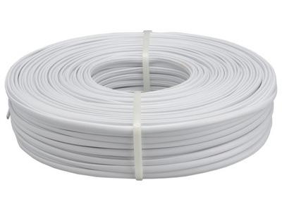 Kábel telefónny kábel biely 100m 4x YTLYp