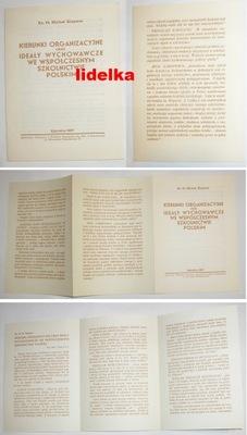 1937 KATOWICE WYDAWNICTWO KS. KLEPACZ SZKOLNICTWO