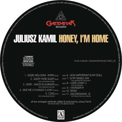 JULIUSZ KAMIL - HONEY, I'M HOME - solo album [CD]