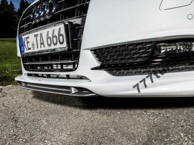 AUDI A6 4G SPOILER ABT DOKLADKA PRZEDNIA