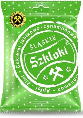 Конфеты  Szkloki Яблоко с Корицей 80 Г