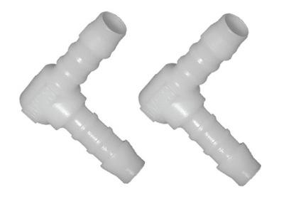 Kolanko plastikowe kolano POM 4 mm łącznik złączka