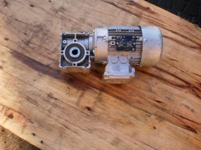 silnik elektryczny 0,3 kw motoreduktor 60 na min