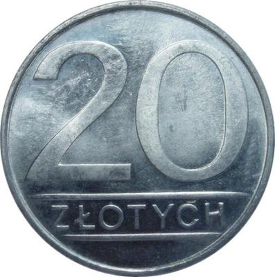 Монета 20  российский рубль 1984 года красивая