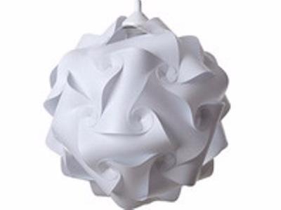 Škandinávskych stropné Svietidlo prívesok lampa Puzzle biela L