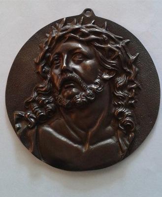 Металлическая Пластинка Христос