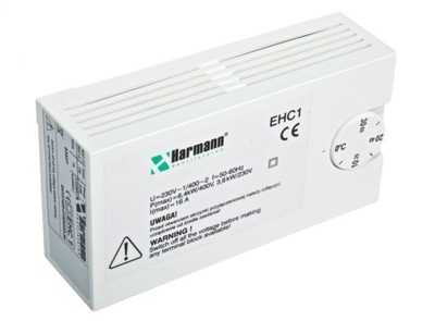 Kontrolór Vodič ohrievač na EHC 1 Harmann