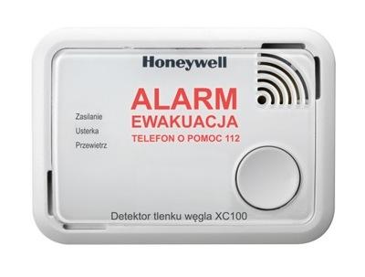 Čad Honeywell dym, oxid uhoľnatý bezpečné