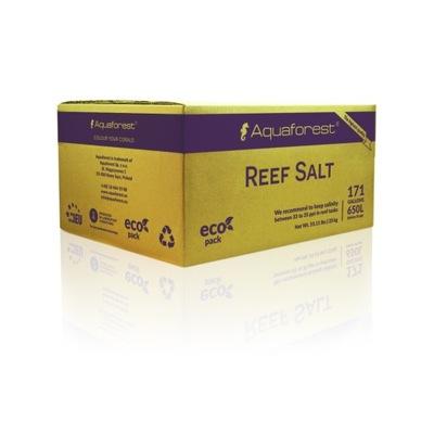 Aquaforest соль Reef Salt 25кг BOX аквариум Рифовых