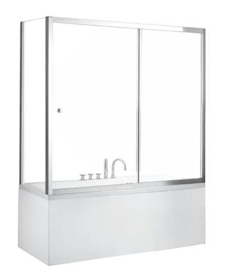 Sprchové dvere - Panel pre vaňu Duo Slide II 100 x 150 cm