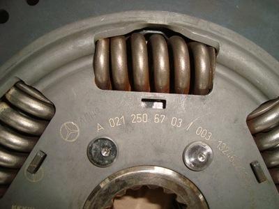 MERCEDES ATEGO AXOR OM 906   SPRZĘGŁO  240-290 PS