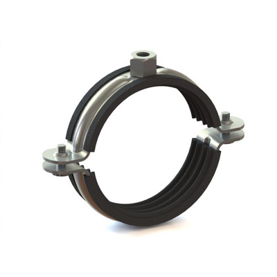 Зажим с кольцом 150 ??  кабель труба Flex канал