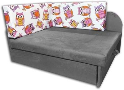 Detská posteľ, gauč, rohová sedačka pre dieťa