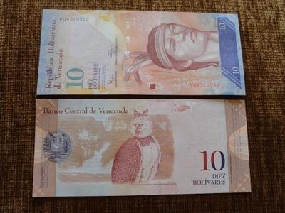 033.WENEZUELA 10 BOLIWAR UNC