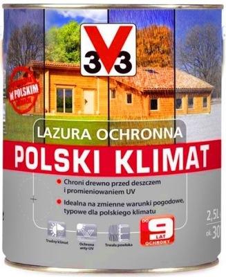 V33 ЛАЗУРЬ  КЛИМАТ 9 ЛЕТ 5Л НОВИНКА 3V3