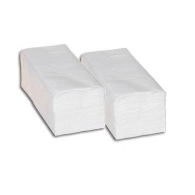 Osuška, uterák - RĘCZNIKI PAPIEROWE ZZ BIAŁE 4000 szt CELULOZA 100%