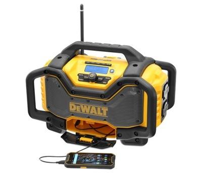 Stavebné rádio -  DeWalt DCR027 rádio s nabíjačkou 18 / 54V USB AUX DAB