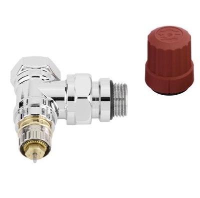 Termostatický ventil ANGLED chróm DANFOSS 013G4247