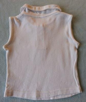 zestaw 2 koszulek polo dla dziewczynki rozmiar 86