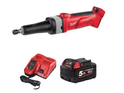 Brúska - MILWAUKEE SANDER STRAIGHT HD18 SG + 5.0AH + LAD