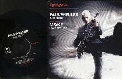 PAUL WELLER - AIM HIGH - MOKE - LIVE MY LIFE