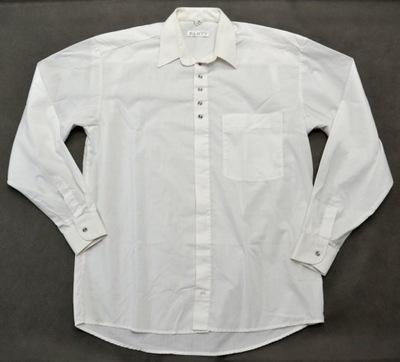 Biała wizytowa koszula Włóczanka  XL ideał