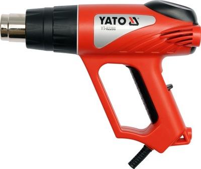 Пистолет горячего воздуха 2000W 70 - 550 C Yato Гарантия 2 ГОДА