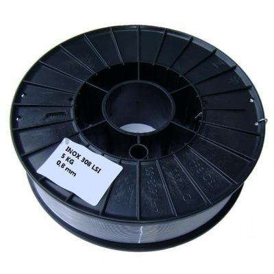 zvárací Drôt 308Lsi nehrdzavejúcej ocele 5 kg 1,0 mm INOX